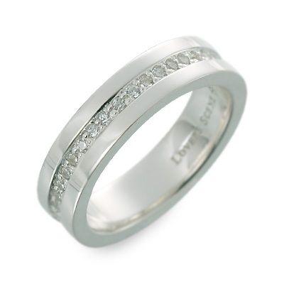 LOVERS SCENE ラバーズシーン シルバー リング 指輪 キュービック ホワイト 20代 30代 楽ギフ_包装 smtb-m