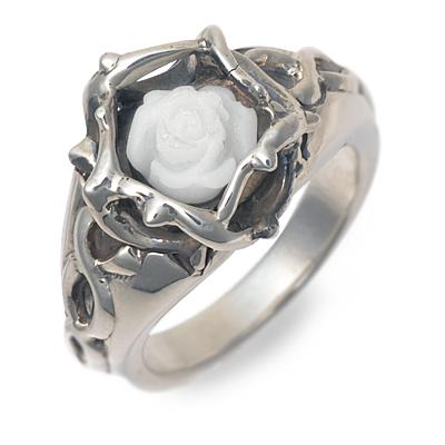 ディールデザイン DEAL DESIGN シルバー リング 指輪 ホワイト 20代 30代 彼女 レディース 母の日 花以外