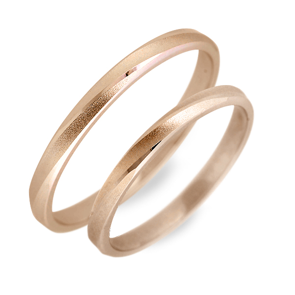 WISP ピンクゴールド ペアリング 婚約指輪 結婚指輪 エンゲージリング 彼女 彼氏 レディース メンズ カップル ペア 誕生日プレゼント 記念日 ギフトラッピング ウィスプ 送料無料クリスマス 12月