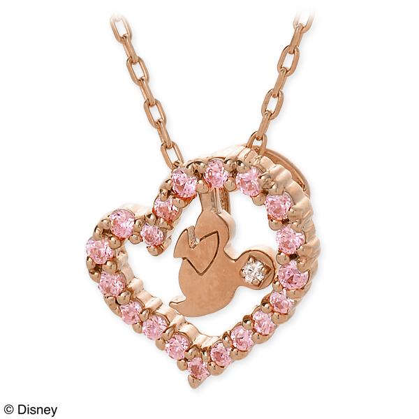 ディズニー Disney THE KISS ザ・キッス シルバー ネックレス ダイヤモンド ホワイト 20代 30代 彼女 レディース disney zone