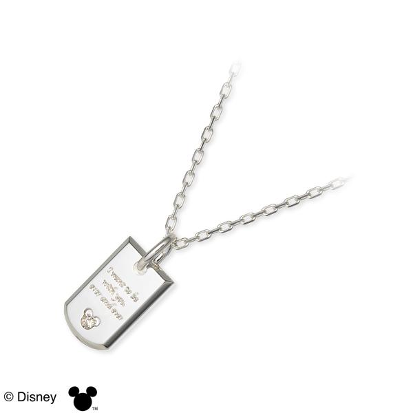 ディズニー Disney THE KISS ザ・キッス シルバー ネックレス ホワイト 人気 ブランド 楽ギフ_包装 smtb-m disney zone