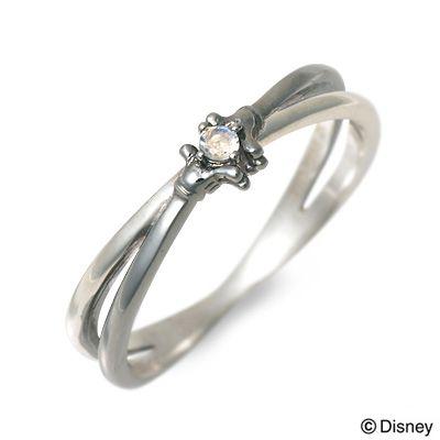 THE KISS Disney シルバー リング 指輪 婚約指輪 結婚指輪 エンゲージリング 20代 30代 彼氏 メンズ 誕生日プレゼント 記念日 ギフトラッピング ザキッス ザキス ザ・キッス ディズニー Disneyzone ミッキーマウス 送料無料