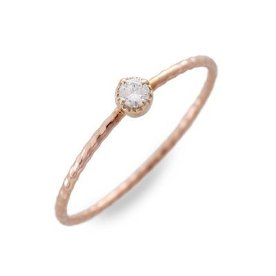 meritorio メリトリオ ピンクゴールド リング 指輪 ダイヤモンド ピンク 彼女 レディース 母の日 2020