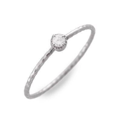 meritorio メリトリオ ホワイトゴールド リング 指輪 ダイヤモンド ホワイト 20代 30代 彼女 レディース 母の日 花以外