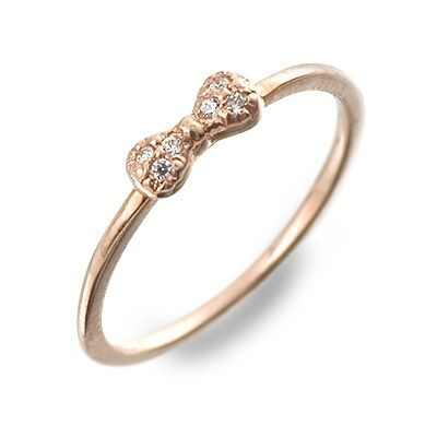 meritorio メリトリオ ピンクゴールド リング 指輪 ダイヤモンド ピンク 彼女 レディース4LA5jR
