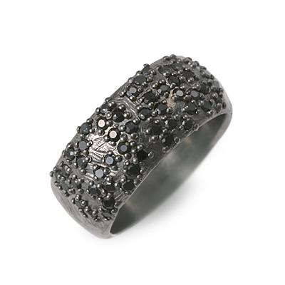 Edda エッダ シルバー リング 指輪 ブラック 20代 30代 人気 ブランド 楽ギフ_包装 smtb-m
