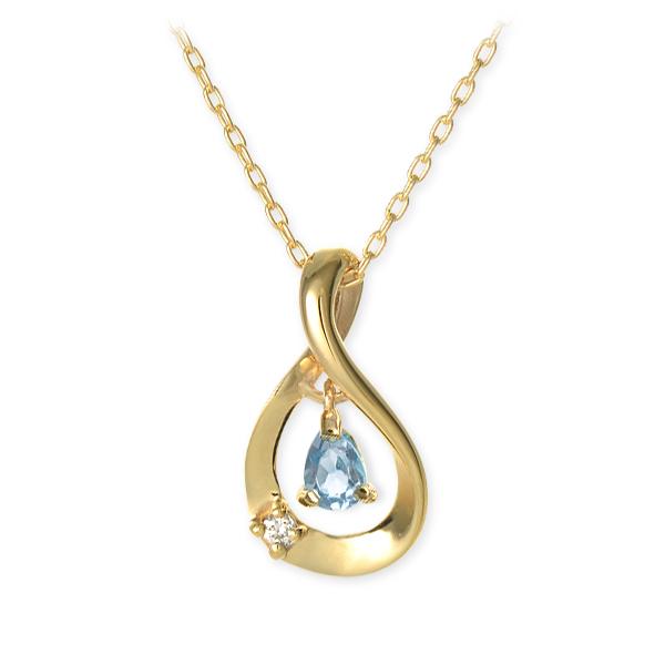 送料無料 WISP ゴールド ネックレス ダイヤモンド 誕生石 選べる 彼女 レディース 女性 誕生日プレゼント 記念日 ギフトラッピング ウィスプ 母の日 2020