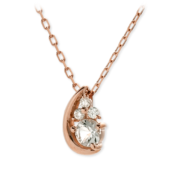 VA Vendome Aoyama ヴイエーヴァンドームアオヤマ ネックレス ダイヤモンド ピンク 20代 30代 彼女 レディース 母の日