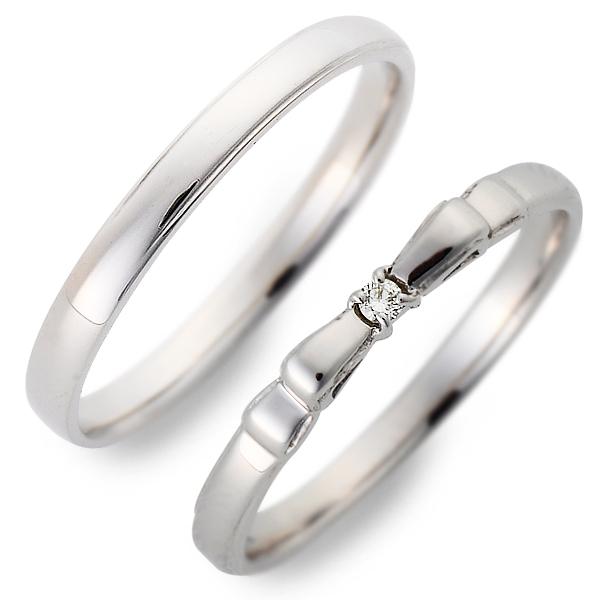 ホワイトゴールド ブランド ダイヤモンド DEUX ペアリング ジュレドゥ レディース カップル 記念日 ペア 結婚指輪 20代 送料無料 30代 誕生日プレゼント ギフトラッピング 彼氏 メンズ JURER エンゲージリング 彼女 婚約指輪