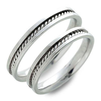 ペアリング 送料無料 JURER DEUX ホワイトゴールド 婚約指輪 結婚指輪 エンゲージリング 彼女 彼氏 レディース メンズ カップル ペア 誕生日プレゼント 記念日 ギフトラッピング ジュレドゥ ブランド 母の日 2020