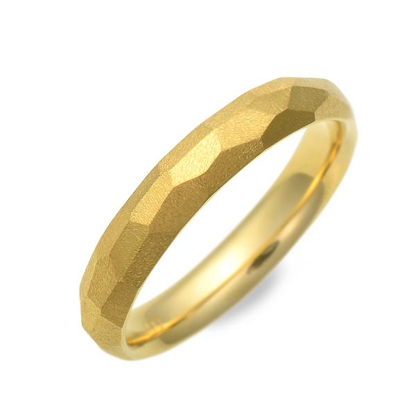 結婚指輪 マリッジリング プラチナ イエロー 彼女 レディース