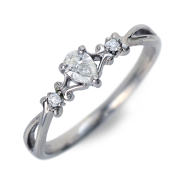 J luxe ジェイリュクス プラチナ リング 指輪 ホワイト 20代 30代 彼女 レディース 母の日 花以外