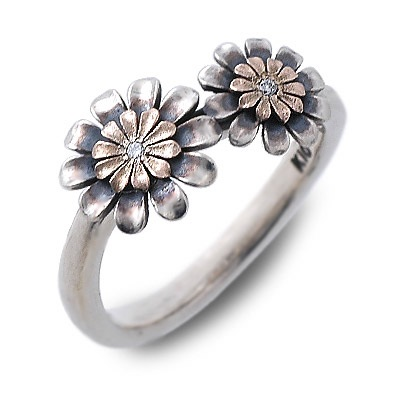 K-SMITH ケイスミス シルバー リング 指輪 ダイヤモンド ホワイト 彼女 レディース