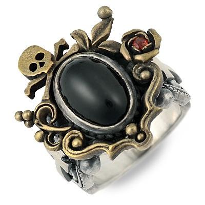 Kalico Lucy カリコルーシー シルバー リング 指輪 ブラック 20代 30代 彼氏 メンズ