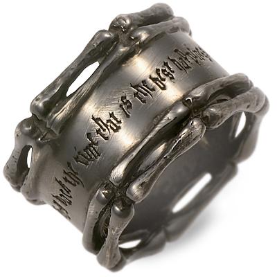 KENBLOOD ケンブラッド シルバー リング 指輪 ブラック 彼氏 メンズ 父の日 人気 ブランド