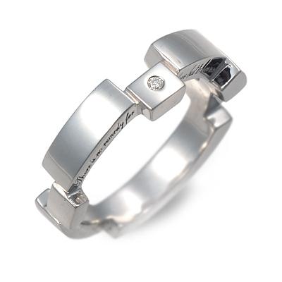 KENBLOOD ケンブラッド シルバー リング 指輪 ダイヤモンド ホワイト 20代 30代 人気 ブランド 楽ギフ_包装 smtb-m
