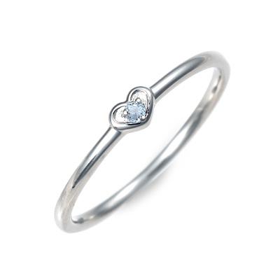 LA PUREZZA Platino ラ・プレッツァプラチノ プラチナ リング 指輪 アクアマリン ホワイト 20代 30代 彼女 レディース 母の日