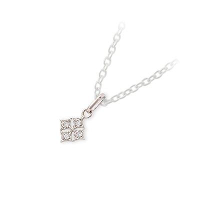 LA PUREZZA ラ・プレッツァ ピンクゴールド ネックレス ダイヤモンド ピンク 彼女 レディース