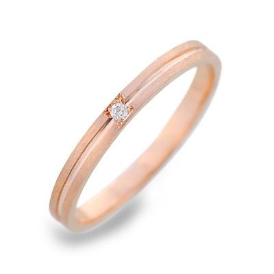 LOVERS&RING ラバーズアンドリング ピンクゴールド リング 指輪 ダイヤモンド ピンク 楽ギフ_包装 smtb-m