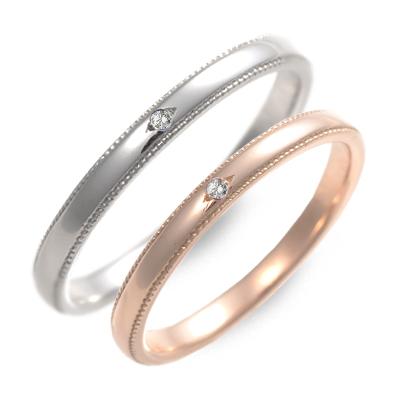 ペアリング LOVERS&RING ラバーズアンドリング ダイヤモンド ホワイト ブランド
