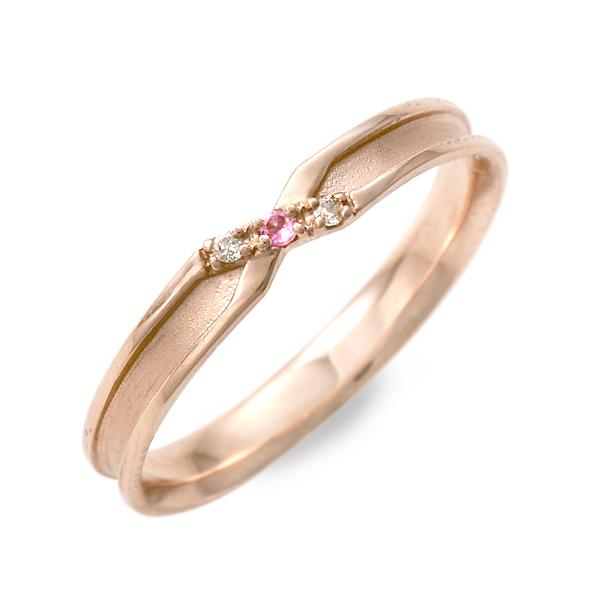 LOVERS&RING ラバーズアンドリング リング 指輪 トルマリン ピンク 20代 30代 人気 ブランド 楽ギフ_包装 smtb-m