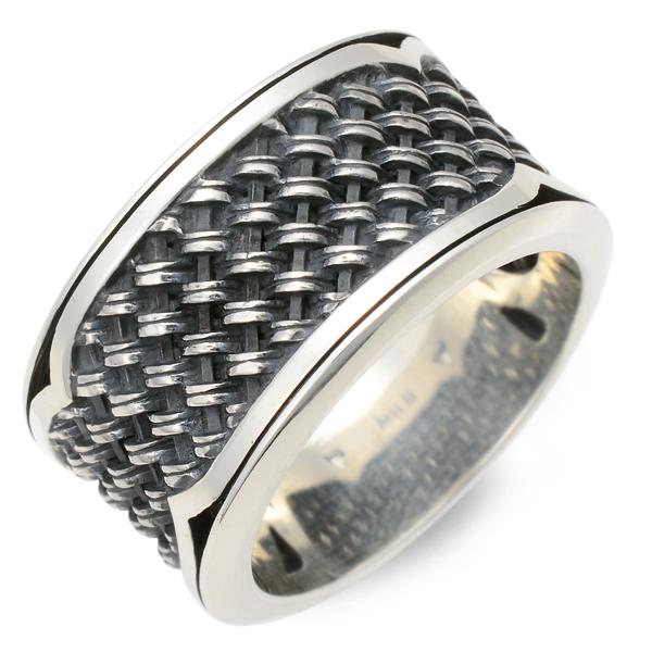 M・A・R・S シルバー リング 指輪 ブラック 20代 30代 彼氏 メンズ 人気 ブランド