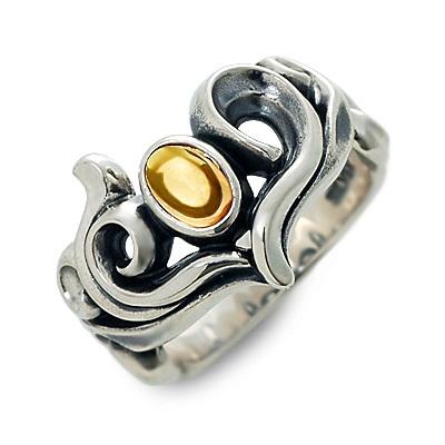 M's collection エムズコレクション シルバー リング 指輪 シトリンクォーツ ホワイト 20代 30代 彼女 レディース
