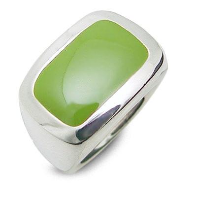 M・Heart シルバー リング 指輪 グリーン 彼女 レディース 人気 ブランド 母の日 2020