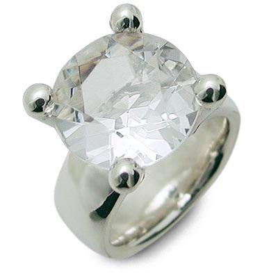 M・Heart シルバー リング 指輪 クォーツ ホワイト 彼女 レディース 人気 ブランド 母の日 2020