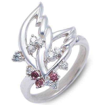未来天使 シルバー リング 指輪 ホワイト 彼女 レディース 人気 ブランド 母の日 2020