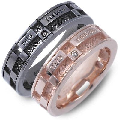 ペアリング KENBLOOD ケンブラッド シルバー ダイヤモンド ブラック 人気 ブランド