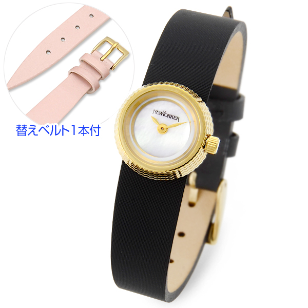 NEWYORKER ニューヨーカー 時計 ブラック 20代 30代 彼女 レディース 人気 ブランド