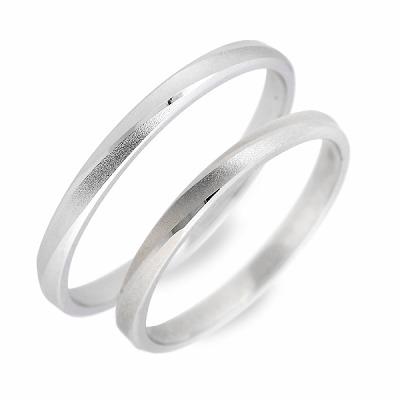 WISP ホワイトゴールド ペアリング 婚約指輪 結婚指輪 エンゲージリング 彼女 彼氏 レディース メンズ カップル ペア 誕生日プレゼント 記念日 ギフトラッピング ウィスプ 送料無料 母の日 2020