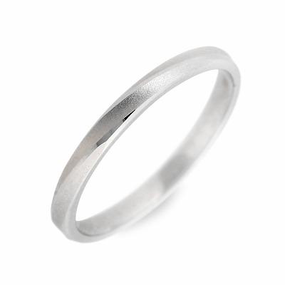 ギフト ラッピング 対応 WISP ホワイトゴールド リング 指輪 婚約指輪 結婚指輪 エンゲージリング 彼女 彼氏 レディース メンズ ユニセックス 誕生日プレゼント 記念日 ギフトラッピング ウィスプ 送料無料