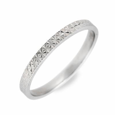 WISP ホワイトゴールド リング 指輪 婚約指輪 結婚指輪 エンゲージリング 彼女 彼氏 レディース メンズ ユニセックス 誕生日プレゼント 記念日 ギフトラッピング ウィスプ 送料無料クリスマス 12月