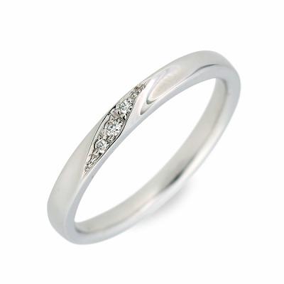 WISP ウィスプ ホワイトゴールド リング 指輪 ダイヤモンド ホワイト 人気 ブランド 楽ギフ_包装 smtb-m