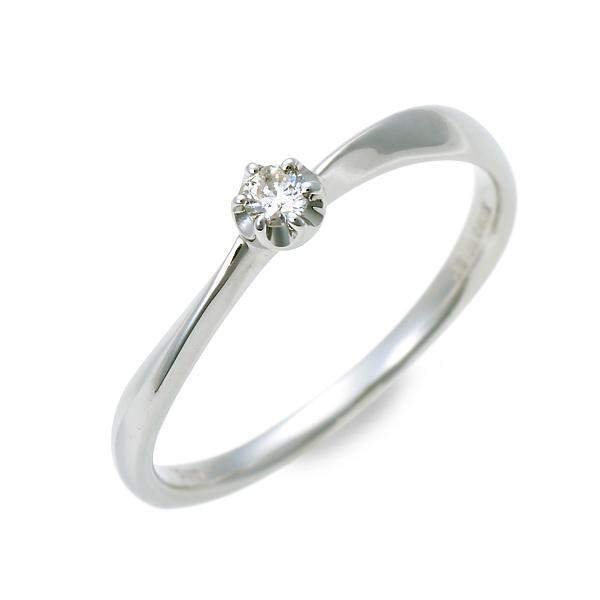 WISP ウィスプ ホワイトゴールド リング 指輪 ダイヤモンド ホワイト 20代 30代 彼女 レディース 母の日