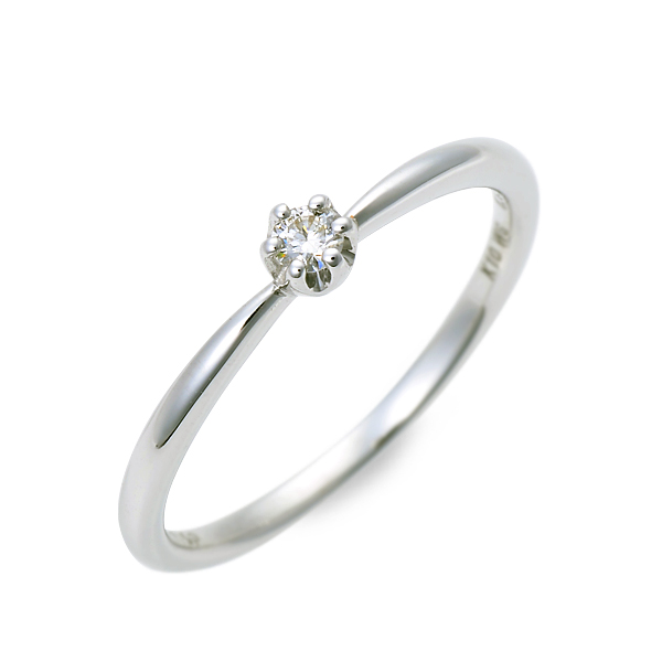 WISP ホワイトゴールド リング 指輪 婚約指輪 結婚指輪 エンゲージリング ダイヤモンド 20代 30代 彼女 レディース 女性 誕生日プレゼント 記念日 ギフトラッピング あす楽 ウィスプ 送料無料