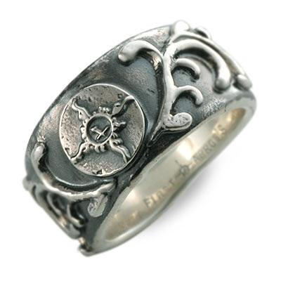 FIRST ARROW's ファーストアローズ シルバー リング 指輪 グレー 20代 30代 彼氏 メンズ