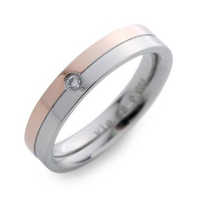 vie ヴィー ステンレス リング 指輪 ダイヤモンド ホワイト 20代 30代 人気 ブランド 楽ギフ_包装 smtb-m