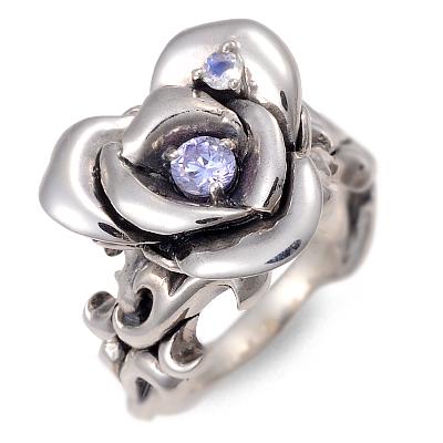 UZUOU ウズオウ シルバー リング 指輪 キュービック ホワイト 20代 30代 彼女 レディース 母の日 花以外