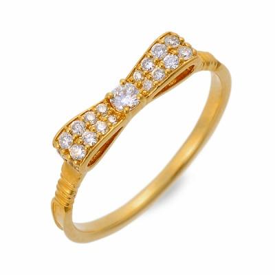 Victorina Victorina リング 指輪 イエロー 彼女 レディース 人気 ブランド