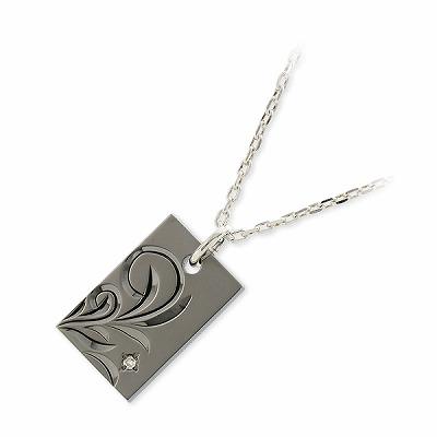 THE KISS シルバー ネックレス ダイヤモンド 彼氏 メンズ 誕生日プレゼント 記念日 ギフトラッピング ザキッス ザキス ザ・キッス 送料無料 ハワイアンジュエリー