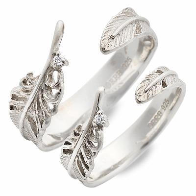 MU-RA ムーラ シルバー ペアリング ダイヤモンド ホワイト 20代 30代 人気 ブランド