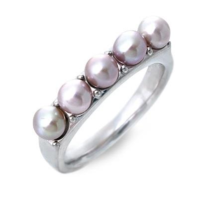 Blue Cat ブルーキャット シルバー リング 指輪 6月誕生石 パール・真珠 ホワイト 20代 30代 彼女 レディース 母の日 花以外