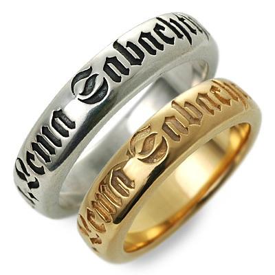 ペアリング SAINTS Design セインツ シルバー ダイヤモンド ホワイト ブランド