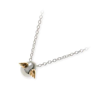 天使の卵 シルバー ネックレス シンプル ホワイト 彼女 レディース 人気 ブランド 母の日 2020