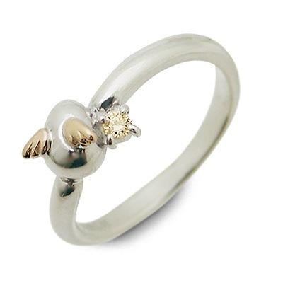 天使の卵 シルバー リング 指輪 シトリンクォーツ ホワイト 彼女 レディース 母の日 2020