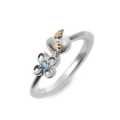 天使の卵 シルバー リング 指輪 トパーズ ホワイト 20代 30代 彼女 レディース 人気 ブランド 母の日 2020