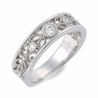 J luxe ジェイリュクス プラチナ リング 指輪 ダイヤモンド ホワイト 20代 30代 彼女 レディース 母の日